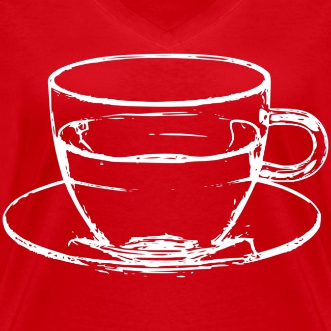transparent cup - tazzina trasparente