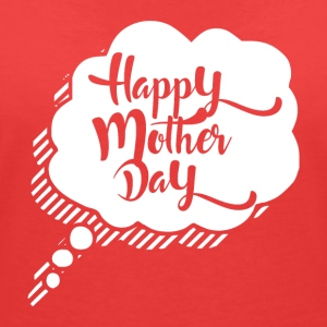 Happy Mothers Day - MOM - Women's V-Neck T-Shirt