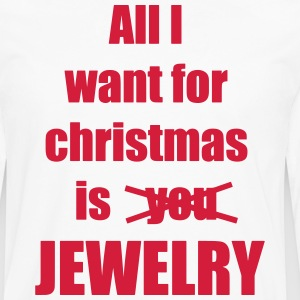 Christmas song saying Jewelry - Men's Premium Longsleeve Shirt
