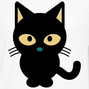 Kitty le chat - T-shirt manches longues Premium Homme