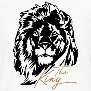 The Lion - The King - Premium langermet T-skjorte for menn