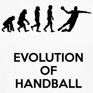 evolution of handball - T-shirt manches longues Premium Homme