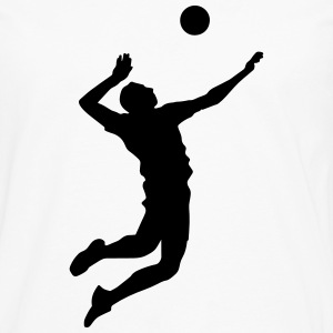 Volleybal overhemd - Beach volleyball T-shirt - Team - Mannen Premium shirt met lange mouwen