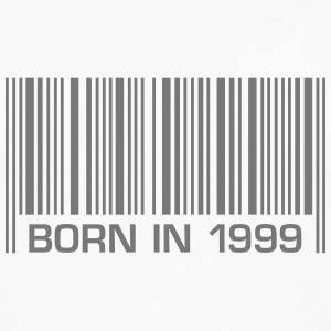born barcode in 1999 18th birthday 18th birthday - Men's Premium Longsleeve Shirt