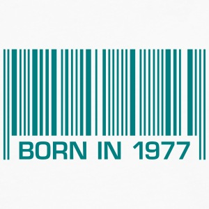born barcode in 1977 40th birthday 40th birthday - Men's Premium Longsleeve Shirt