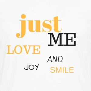 JUST ME - Men's Premium Longsleeve Shirt