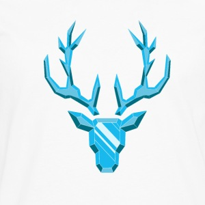 Precious Stone: Diamond Deer - Men's Premium Longsleeve Shirt