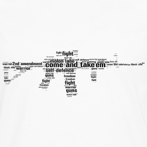 ar15 black rifle tacticool word cloud - Men's Premium Longsleeve Shirt