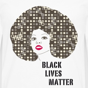 black woman afro disco 70s face party dance fun r - Men's Premium Longsleeve Shirt