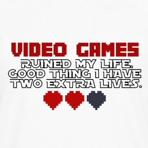 Video Games - Two Extralives - Men's Premium Longsleeve Shirt