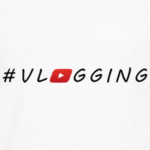YouTube #Vlogging - T-shirt manches longues Premium Homme