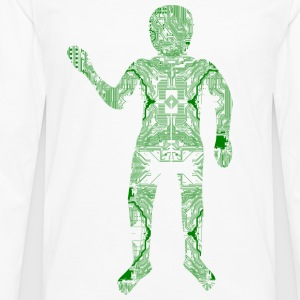 Digital Hardware Man - Men's Premium Longsleeve Shirt