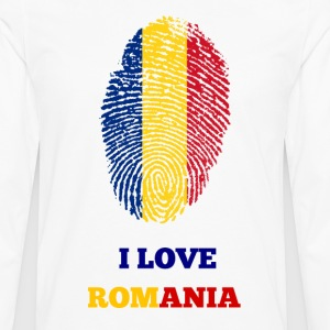 I Love Romania - Men's Premium Longsleeve Shirt