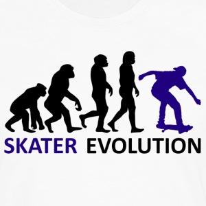 ++ ++ Skater Evolution - Men's Premium Longsleeve Shirt