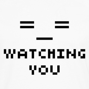 Watching You - T-shirt manches longues Premium Homme