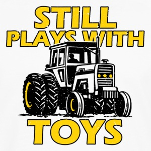 Tractor man's toy - Men's Premium Longsleeve Shirt