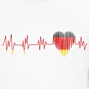 GERMANY GERMANY PULS HEART - Men's Premium Longsleeve Shirt