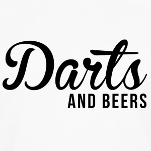 Darts and beers - Men's Premium Longsleeve Shirt