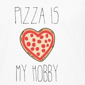 Pizza is my hobby - Men's Premium Longsleeve Shirt