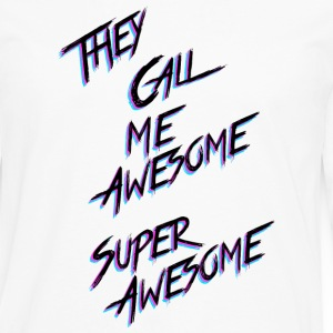 They call me Awesome - Men's Premium Longsleeve Shirt