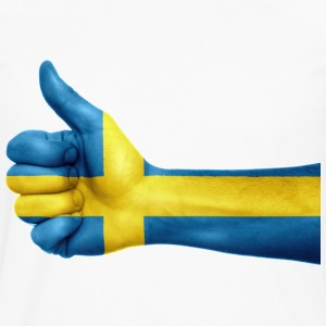 SWEDEN THUMB T-SHIRT - Men's Premium Longsleeve Shirt