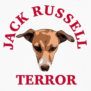 Jack Russell rouge terreur - T-shirt manches longues Premium Homme