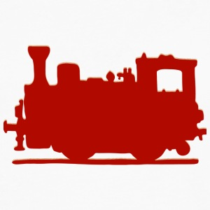Vintage Steam Train - Premium langermet T-skjorte for menn