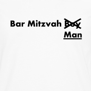 Bar Mitvah man funny sayings - Men's Premium Longsleeve Shirt