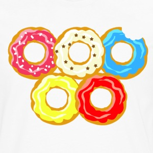 donuts - T-shirt manches longues Premium Homme