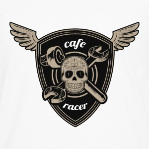Cafe racer road race - Premium langermet T-skjorte for menn