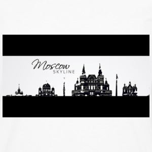 MOSCOU SKYLINE (EDITION) - T-shirt manches longues Premium Homme