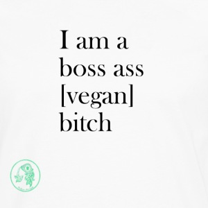 Bag - Boss Ass Bitch Vegan - Långärmad premium-T-shirt herr
