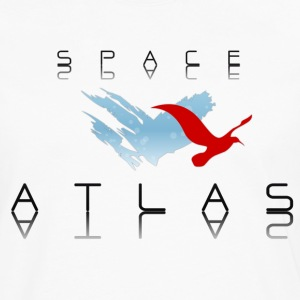 Space Atlas Baseball Tee Red - Men's Premium Longsleeve Shirt