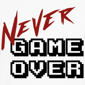 Big_Never_game_Over - Herre premium T-shirt med lange ærmer