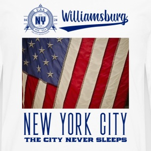 New York City · Williamsburg - T-shirt manches longues Premium Homme
