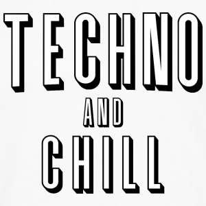 Techno and chill - Men's Premium Longsleeve Shirt