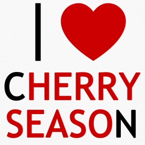 I Love Cherry Season T-Shirt - Men's Premium Longsleeve Shirt