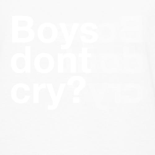 Boys don't cry Long sleeve - Men's Premium Longsleeve Shirt