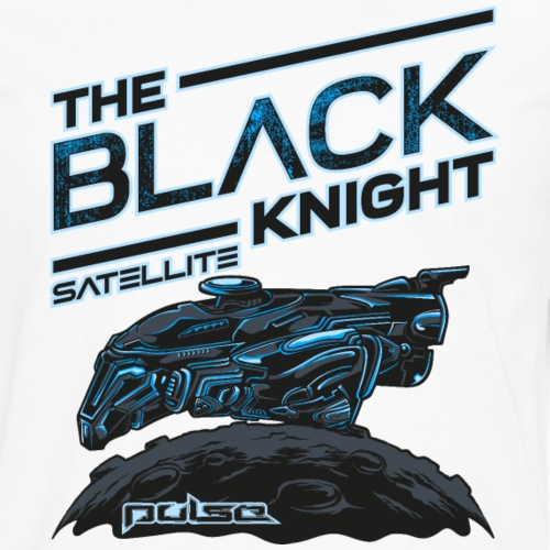The Black Knight Satelite (Pulse) (Light) - Männer Premium Langarmshirt