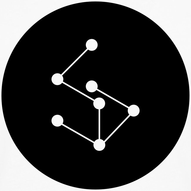 Lan Logo Circle Black