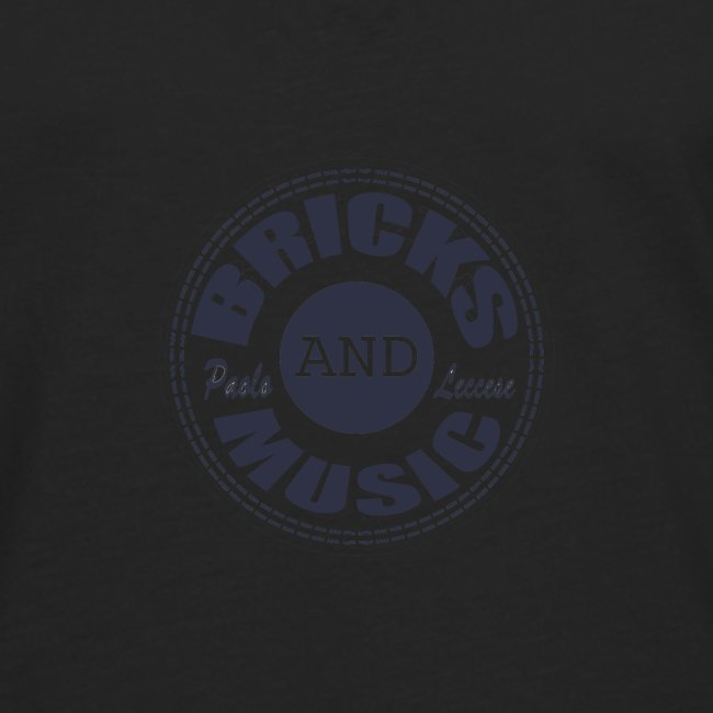 logo Bricks and Music BLUE