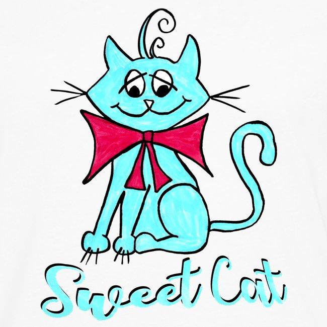Niedliche kleine blaue Katze, Sweet!