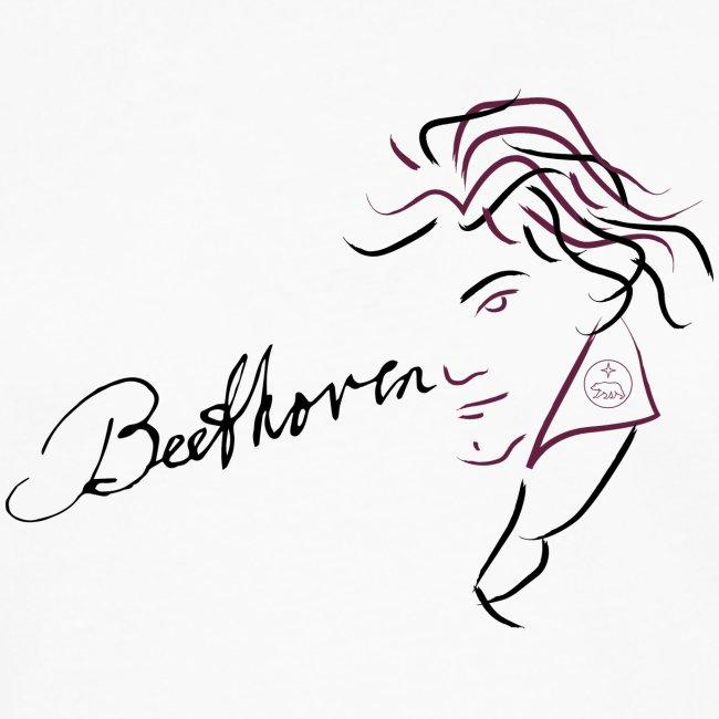 Beethoven (aubergine / black)