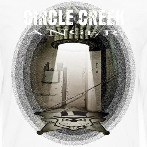Circle Creek Anger - Männer Premium Langarmshirt