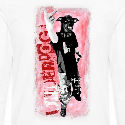 Underdog Fuck The System - Männer Premium Langarmshirt