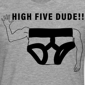 High Five - Camiseta de manga larga premium hombre