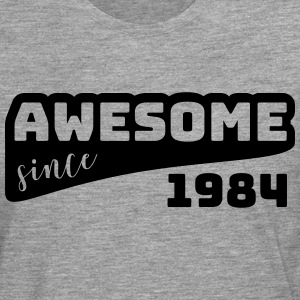 Awesome since 1984 / Birthday-Shirt - Men's Premium Longsleeve Shirt