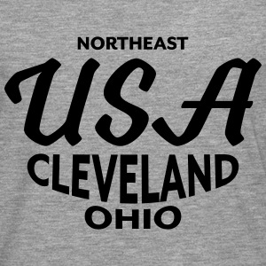 Northeast USA Cleveland Ohio - CLEVELAND SHIRTS - Men's Premium Longsleeve Shirt