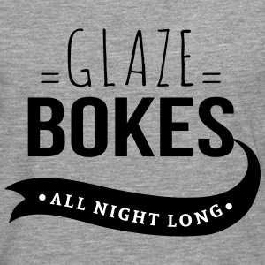 glaze bokes, All night long - Mannen Premium shirt met lange mouwen