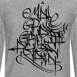 Faire Graffiti Great Again - T-shirt manches longues Premium Homme